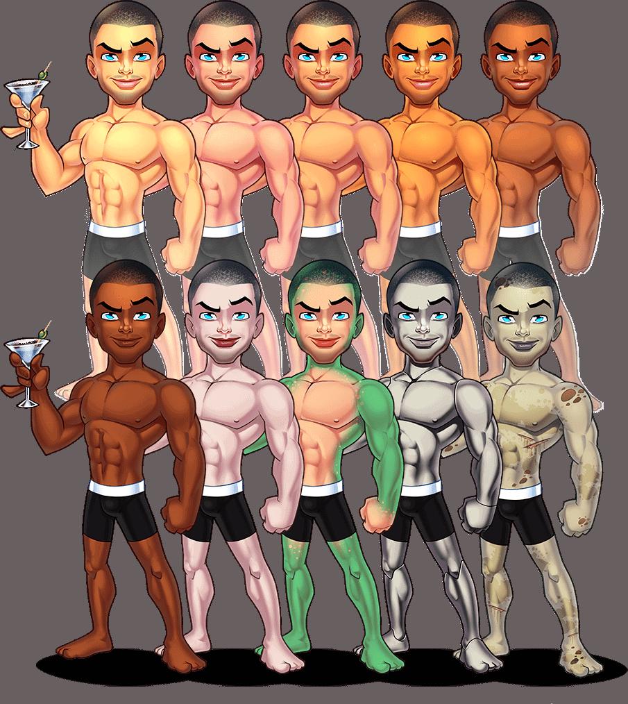 avatar creator races