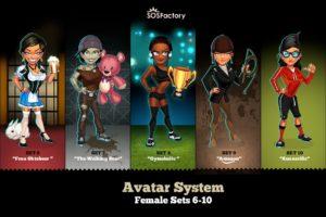 female-avatar-sets-6-10
