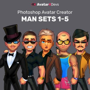 Avatar Man Sets 1-5