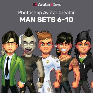 Avatar Man Sets 6-10