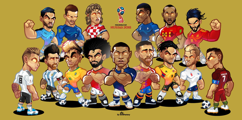russia 2018 dreamteam