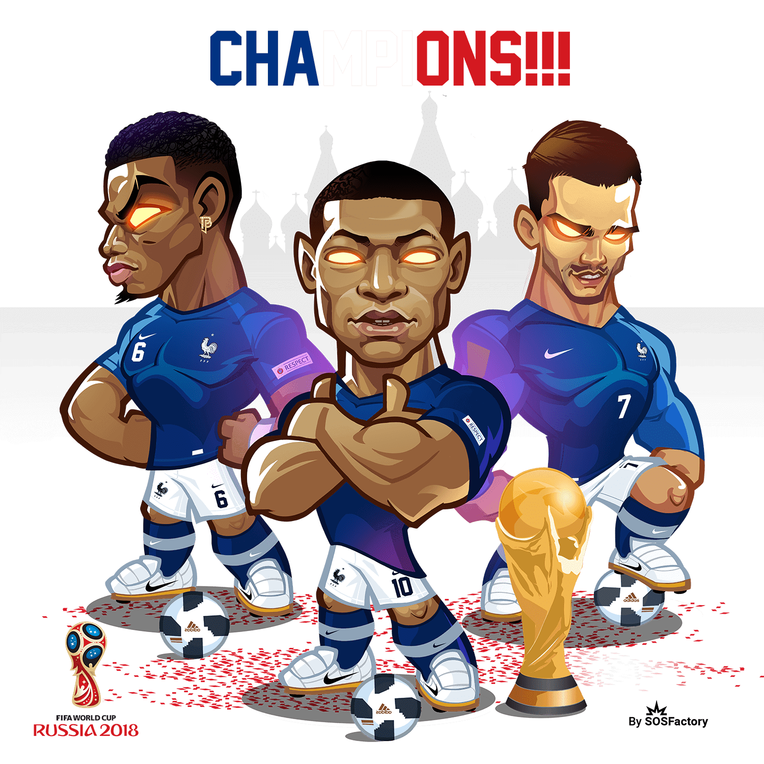champions les blues