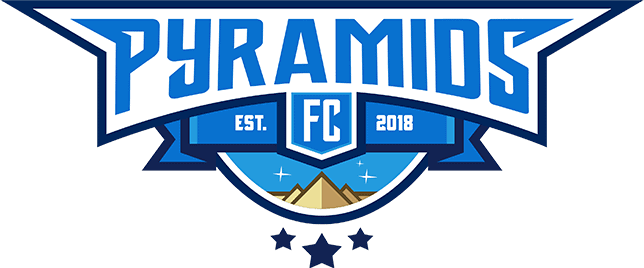 pyramids logo half badge