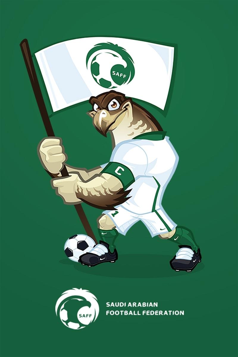 mascot design saudi arabia