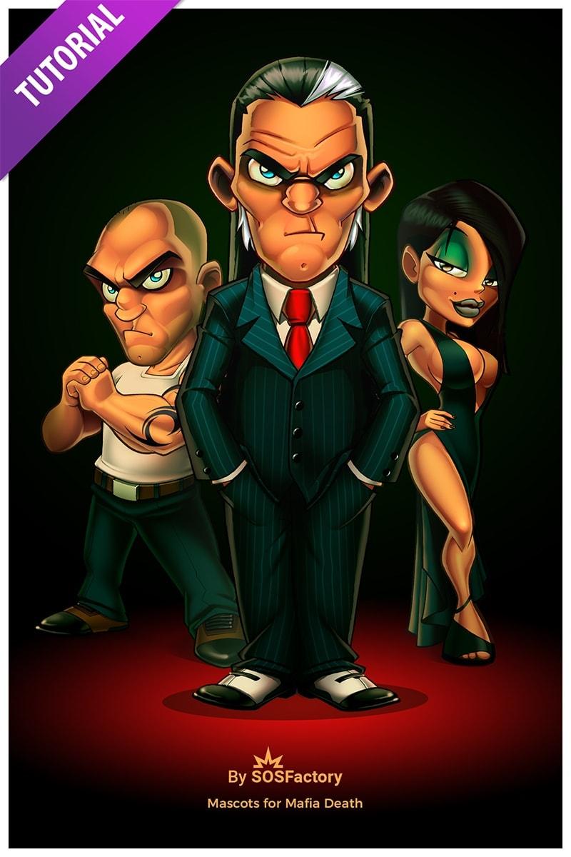 mascot design mafia death