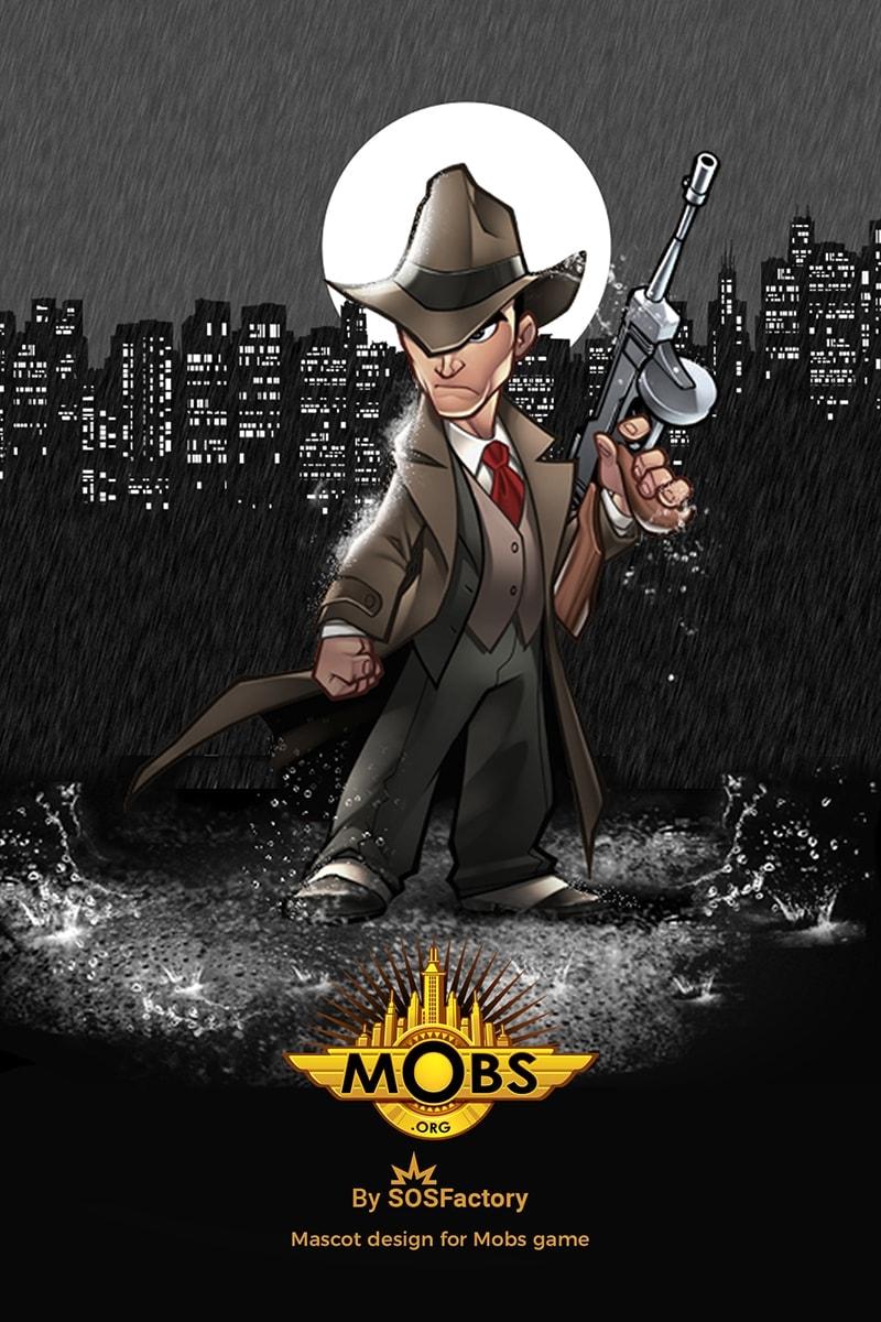 mafia mascot design
