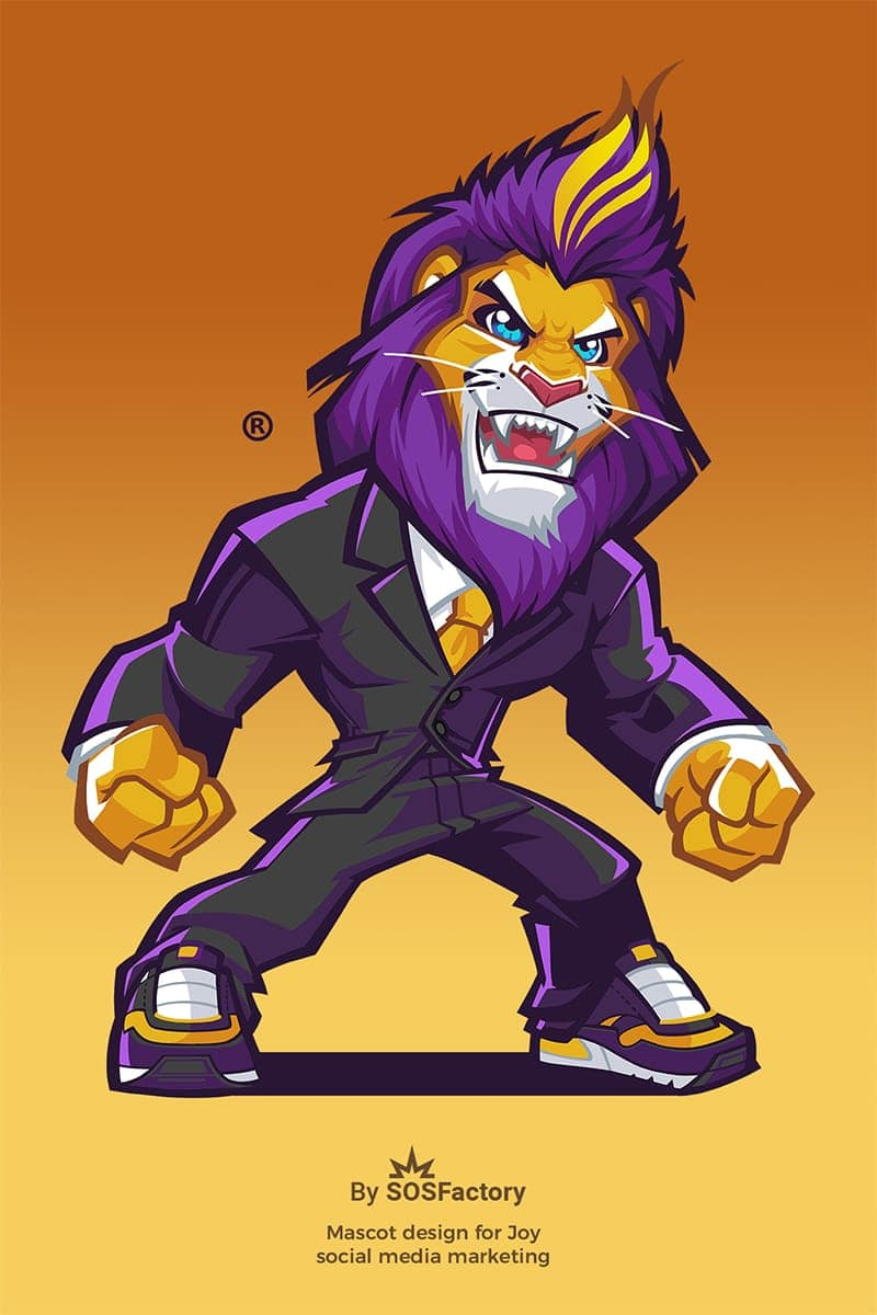 joy mascot redesign