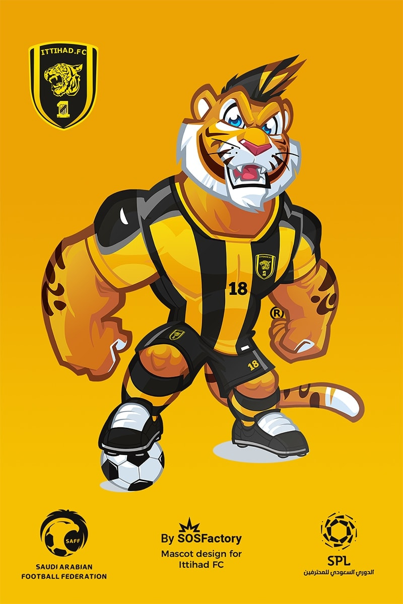ittihad mascot design
