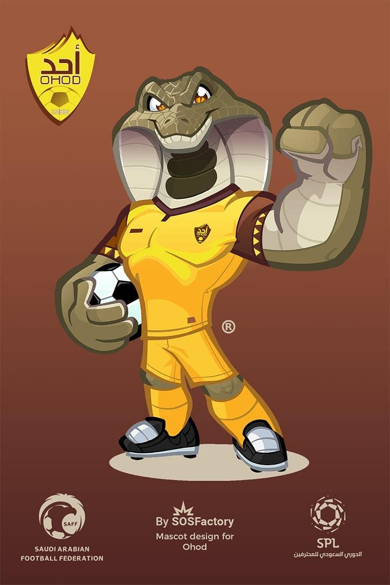 ohod mascot design
