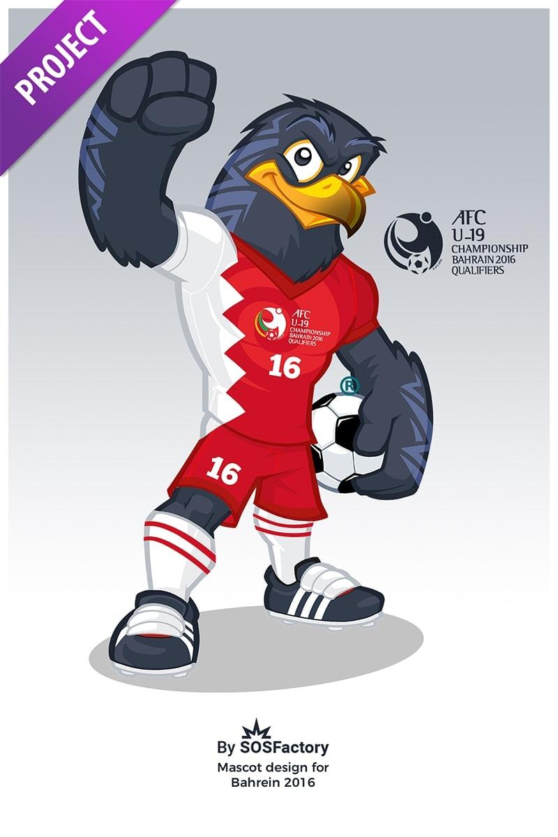 bahrein2016 mascot design