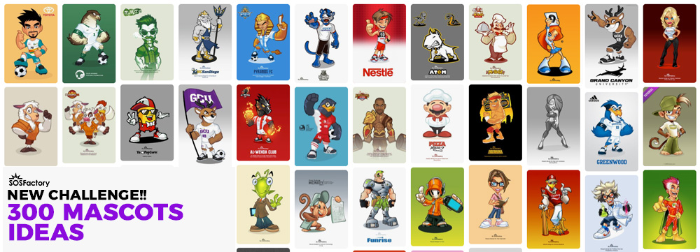 300 mascots ideas for companies