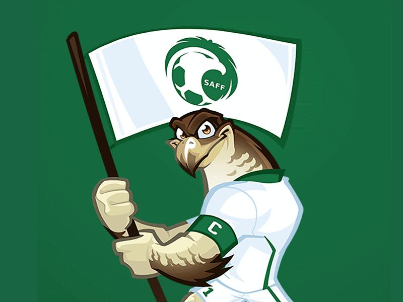 saudi arabia mascot design