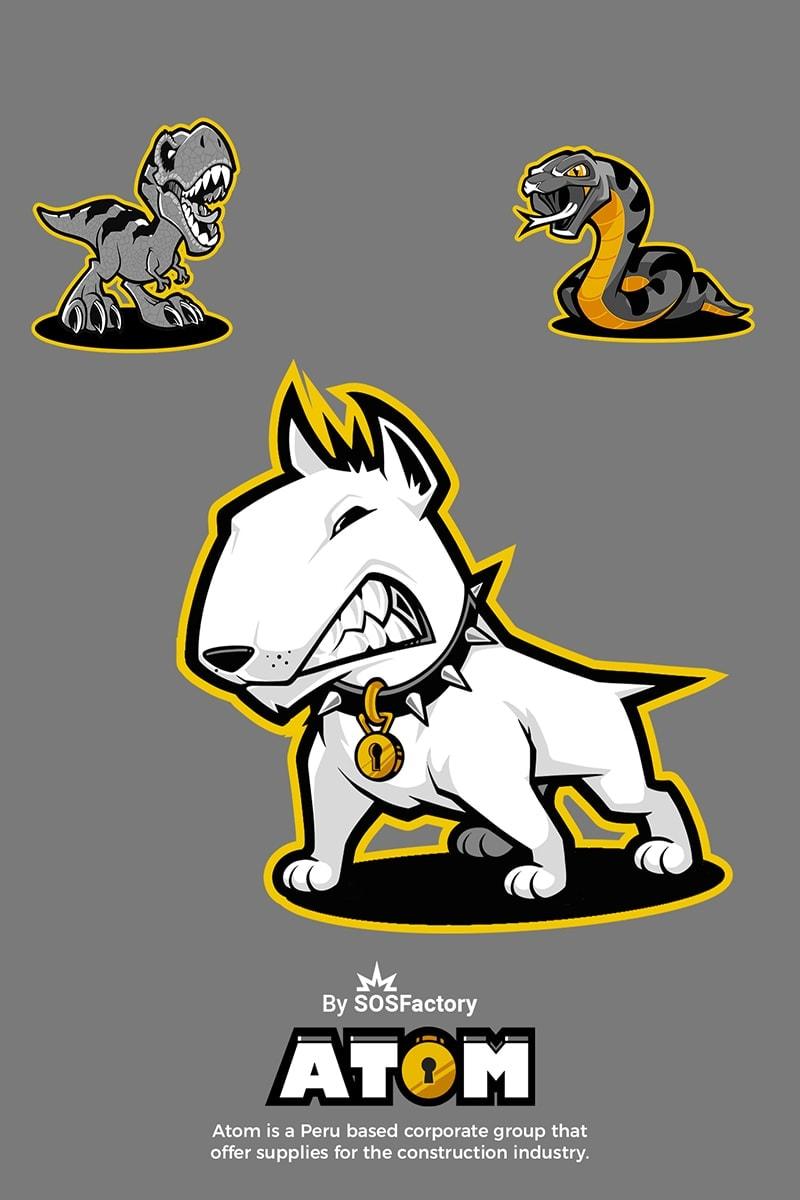 animal mascot design