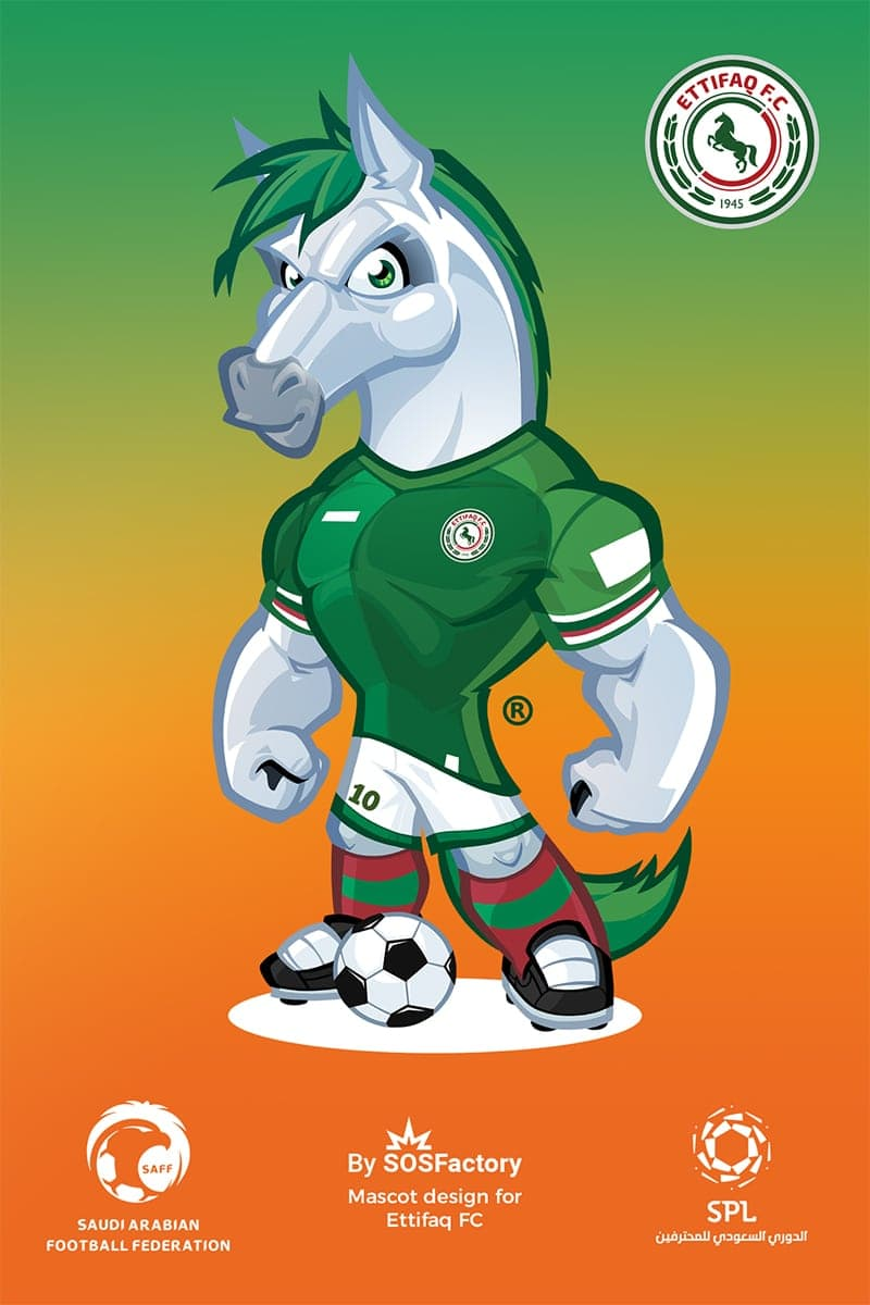 Al-Ahli Saudi FC Mascot