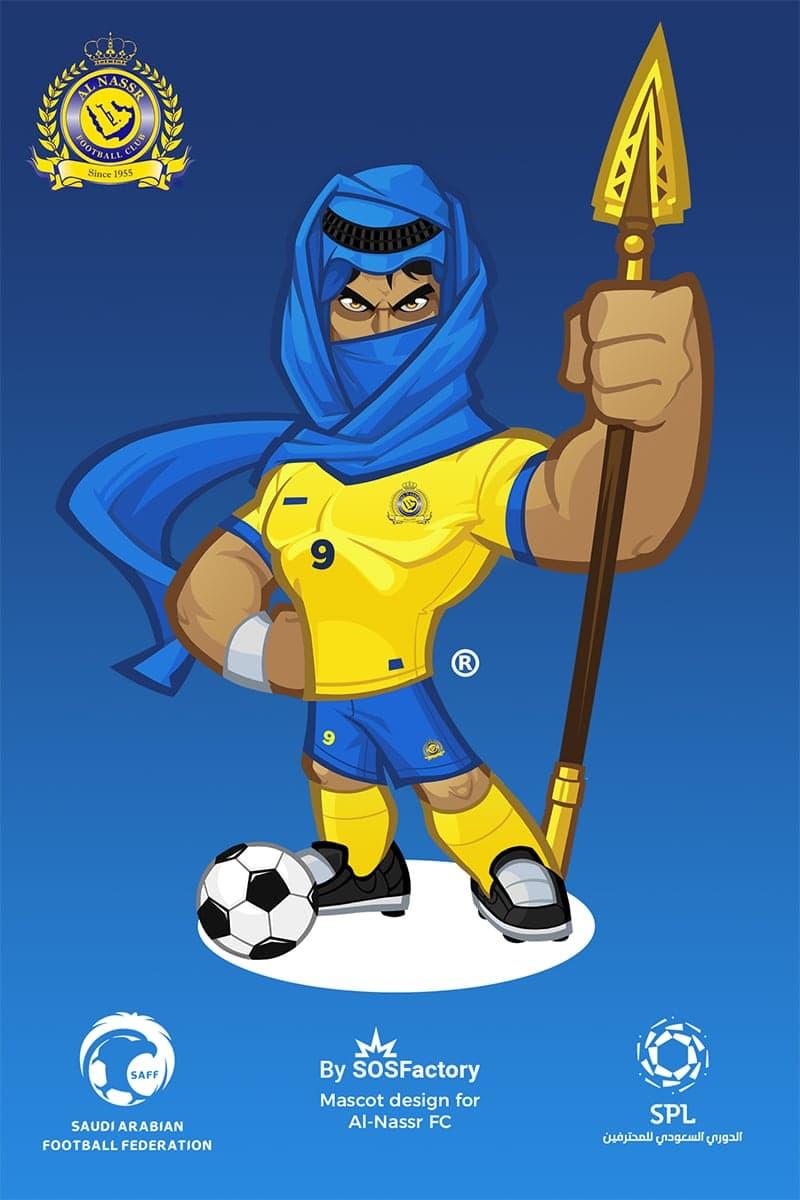 Al Nassr Sport Mascot