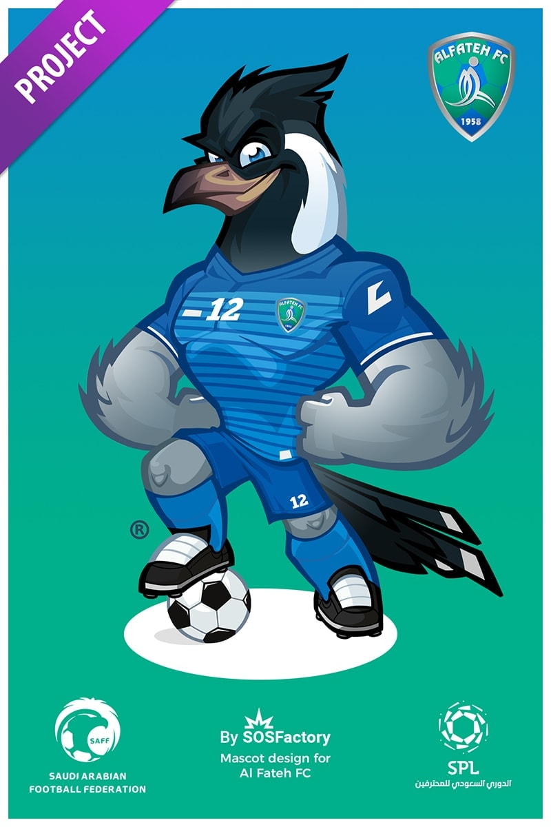 Al Fateh Sport Mascot