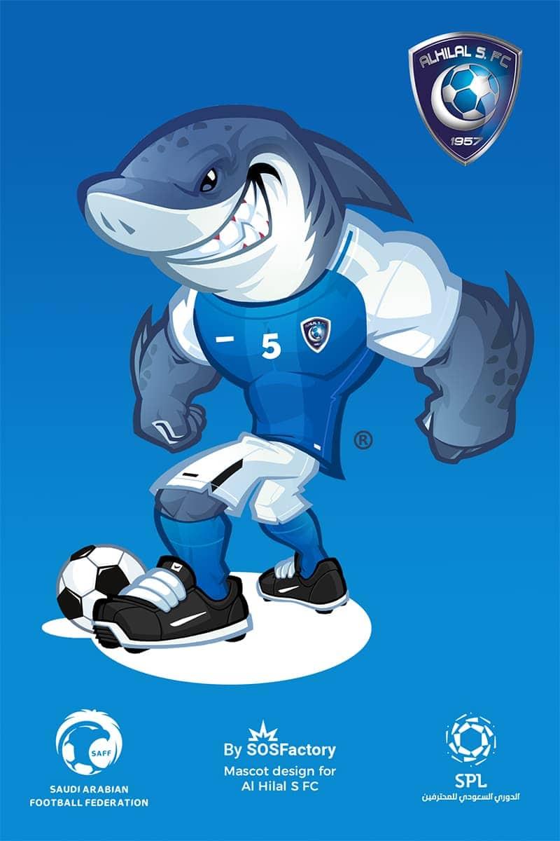 Al Hilal Sport mascot