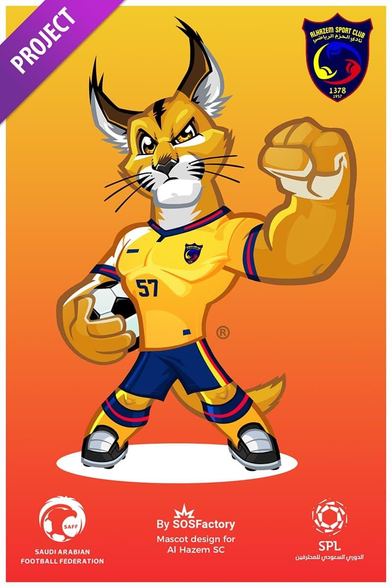 Al Hazem Sport Mascot