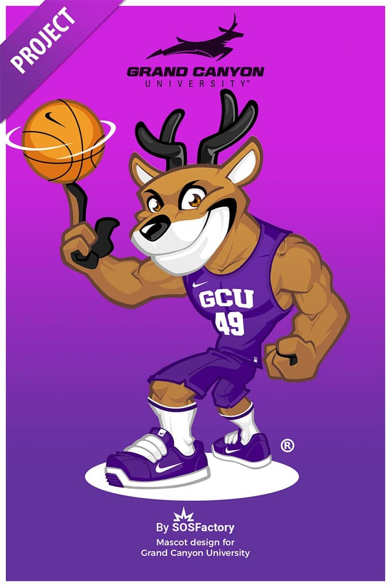 Grand Canyon Mascot design