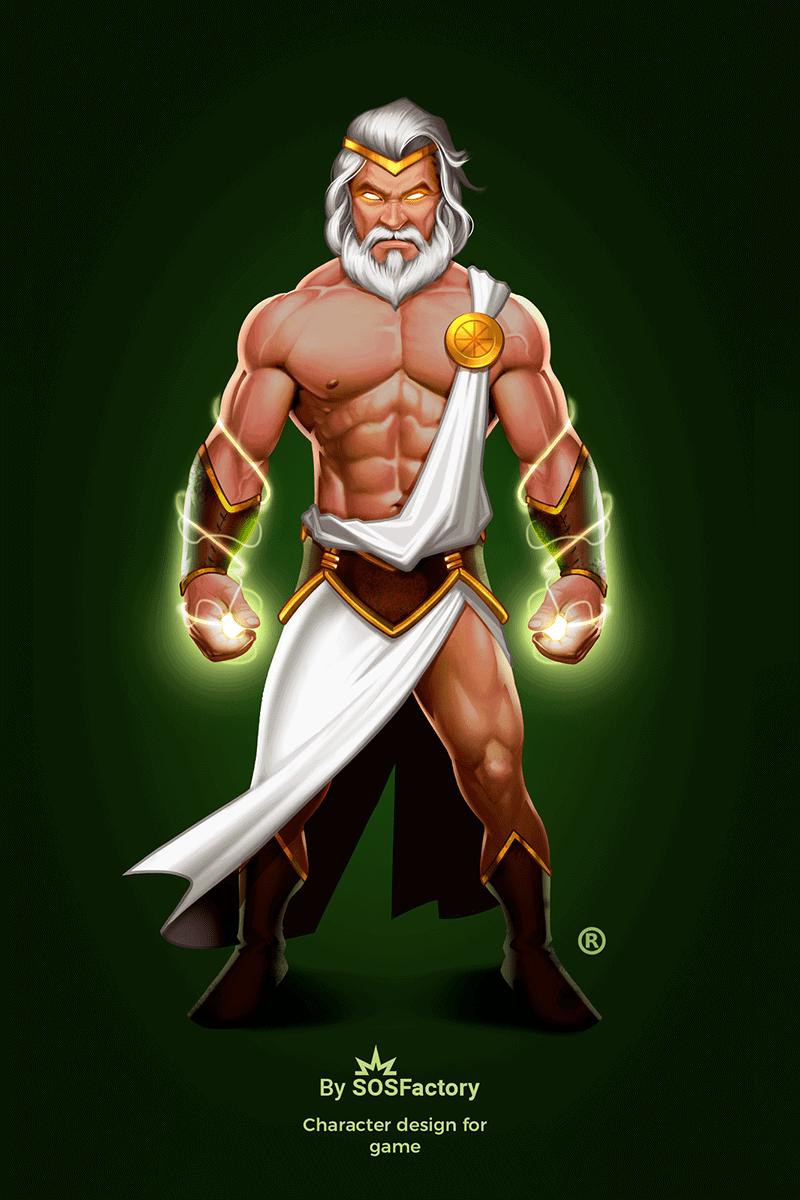 Zeus concept art