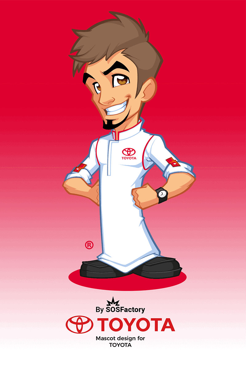 Mascot design for Toyota