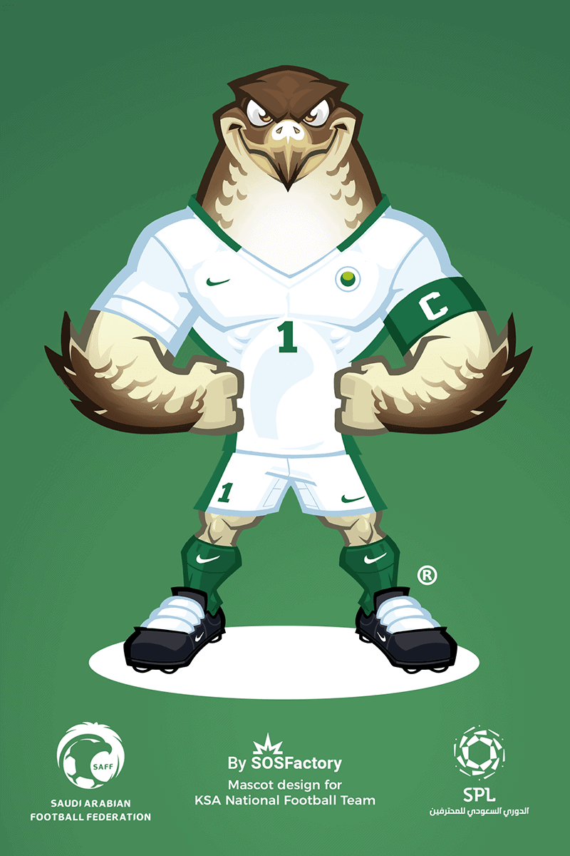 Mascot design for KSA national team