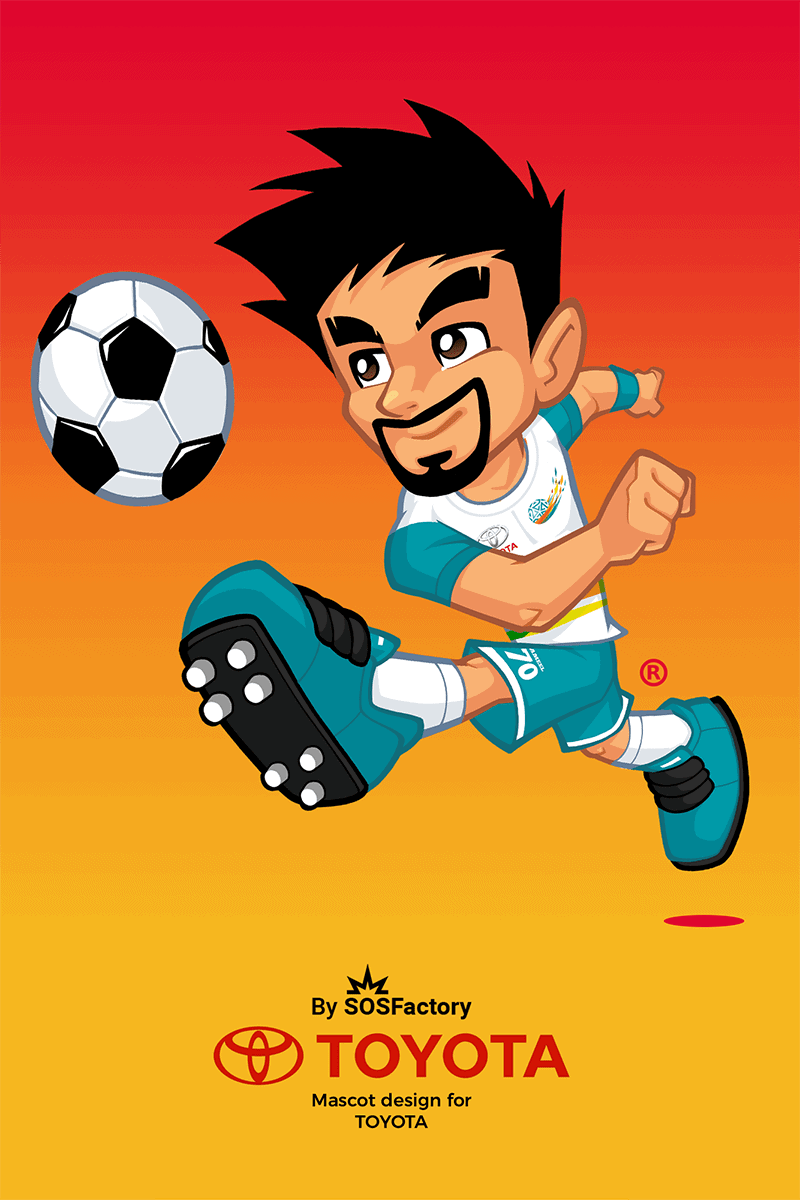 Mascot design for KSA professional football league