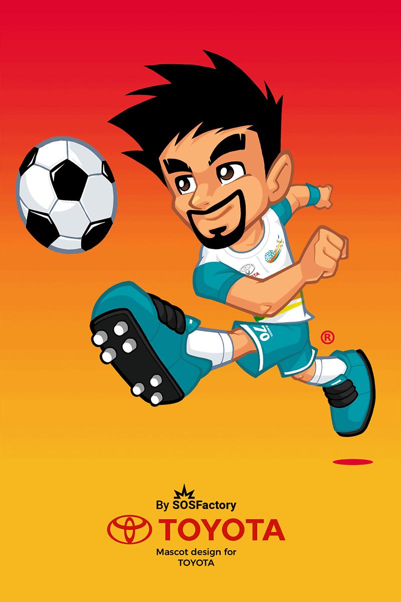 Mascot design for KSA professional football league