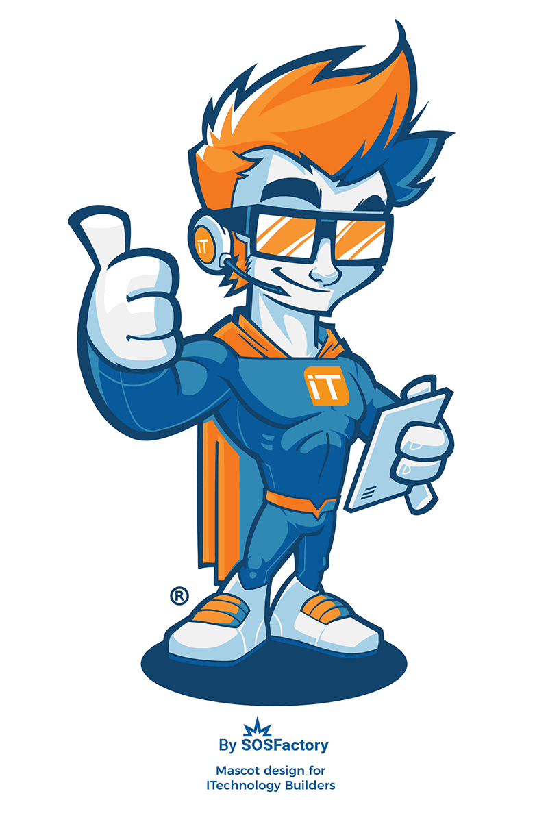 Mascot design for ITechnology Builders