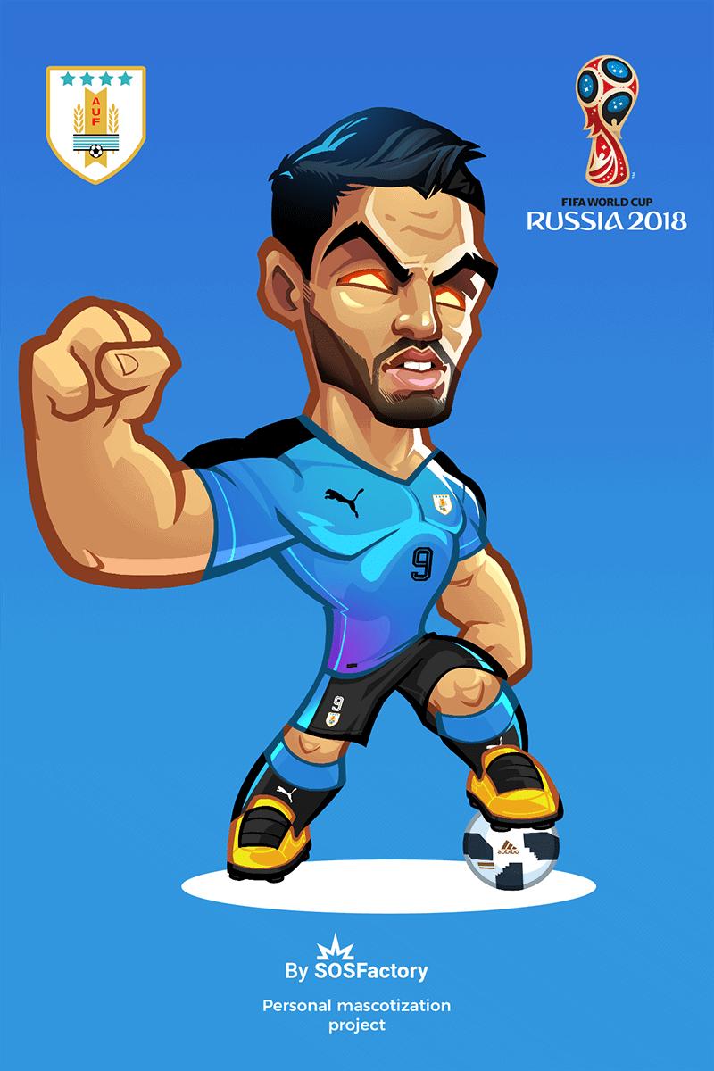 Russia 2018 Luis Suarez