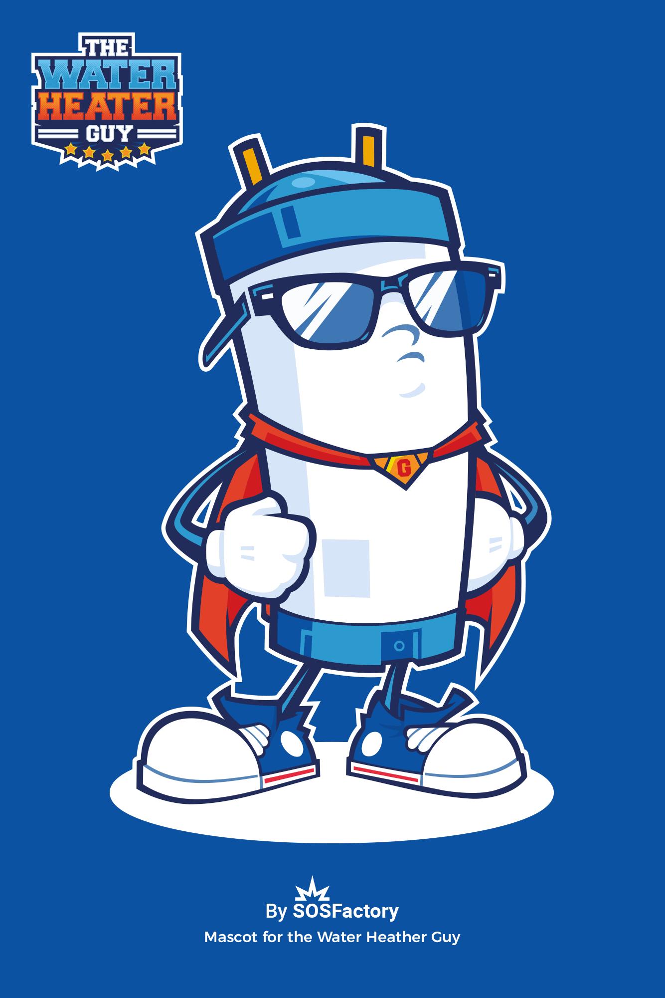 Mascot character object