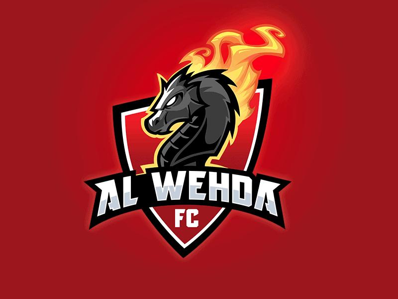 al-wehda logo design