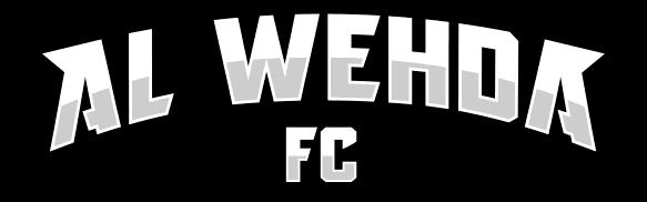 al-wehda text logo