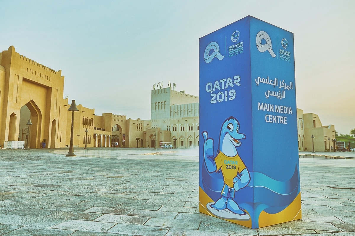 qatar 2019 awbg welcome