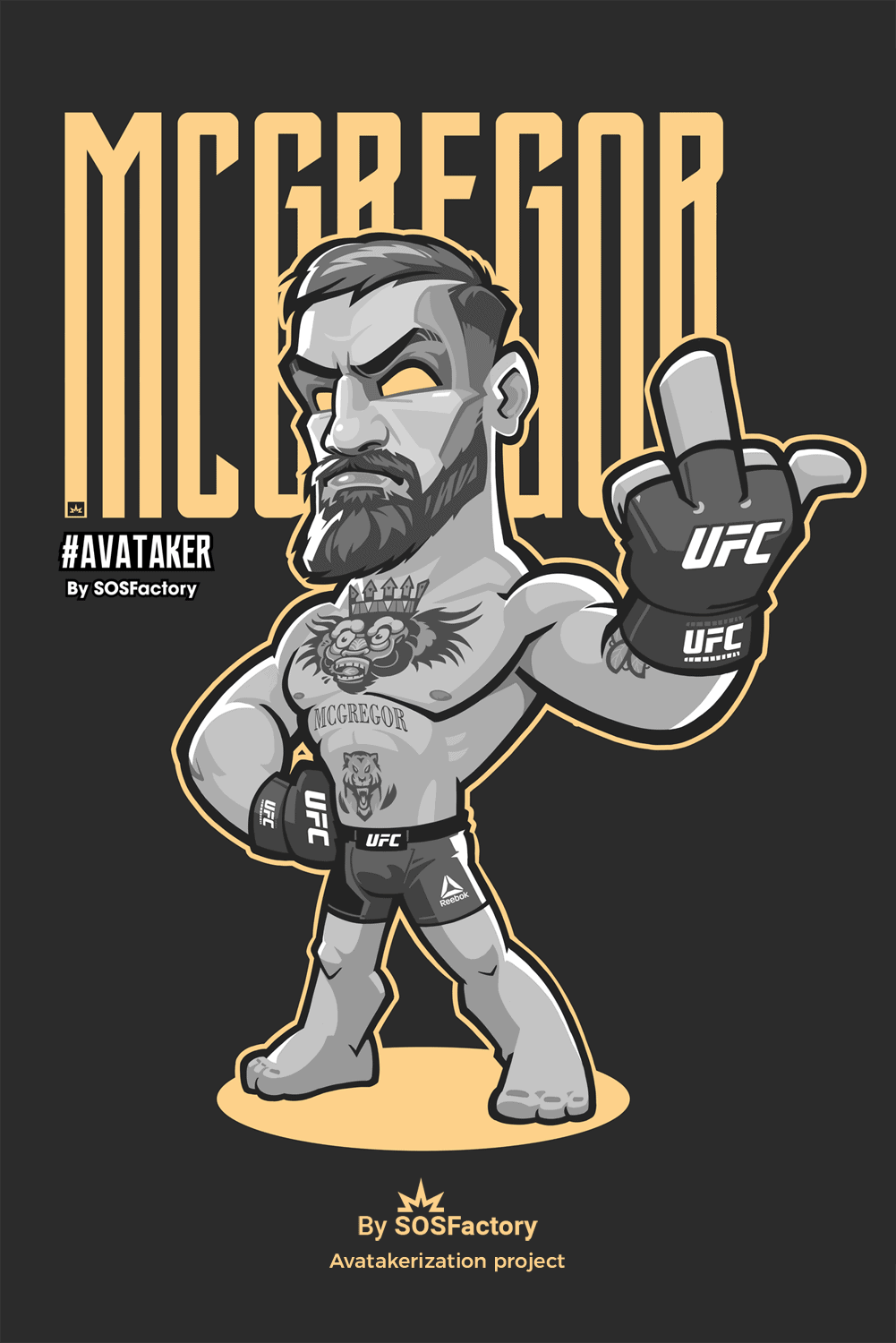 Connor McGregor Avatar