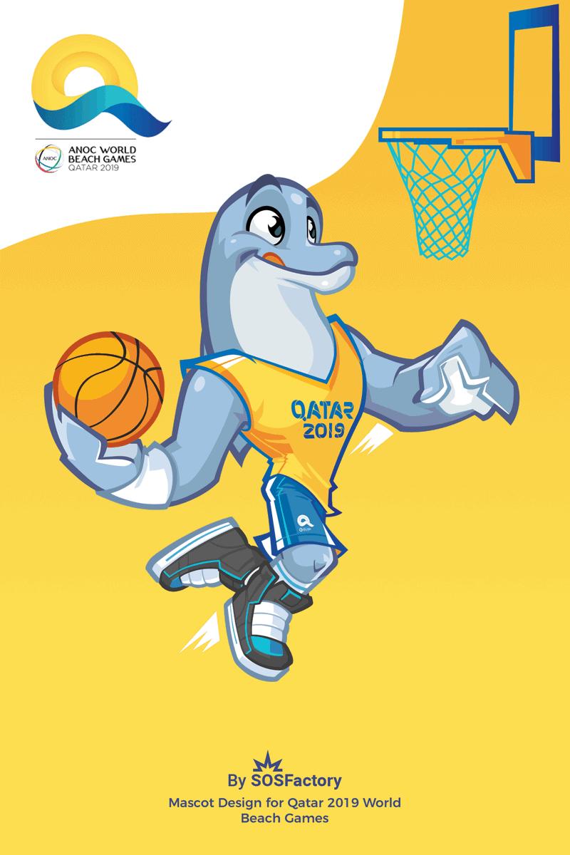 Dolphy Basketball Qatar 2019