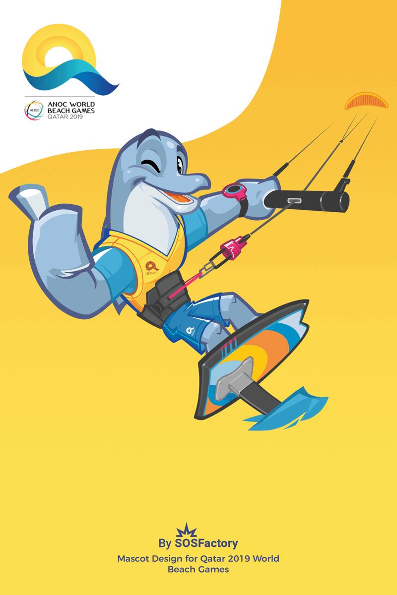 Dolphy Kitesurf Qatar 2019