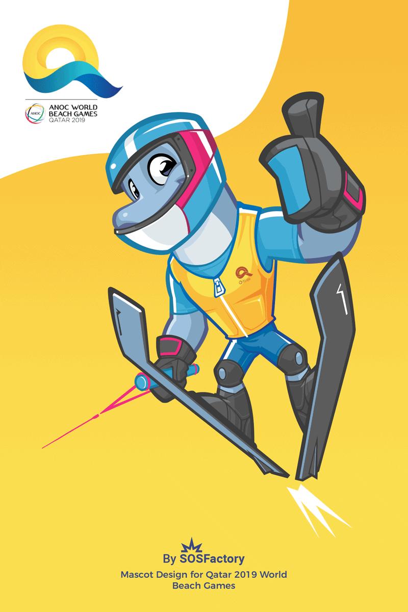 Dolphy Ski jump Qatar 2019