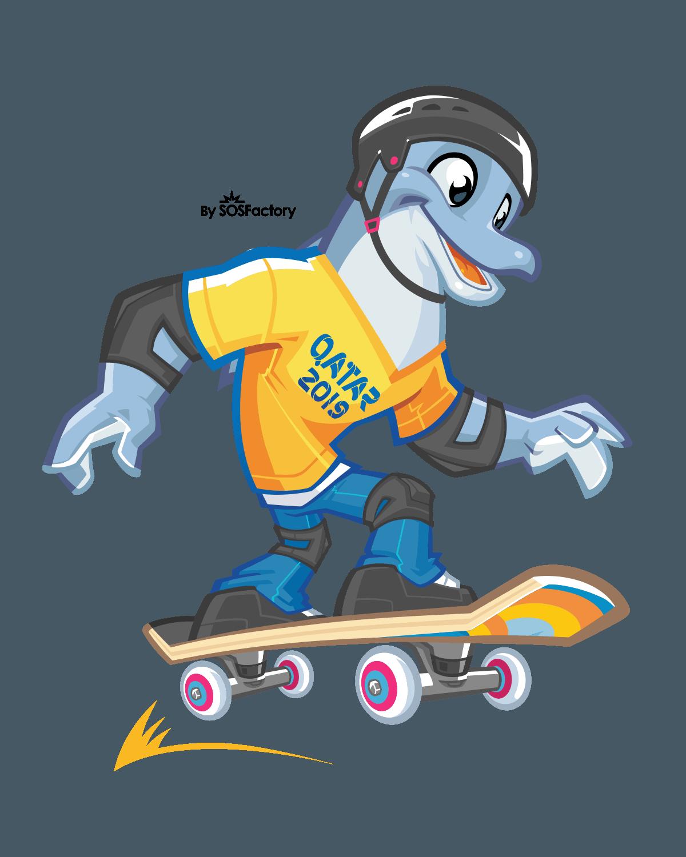 Dolphy Skating Qatar 2019