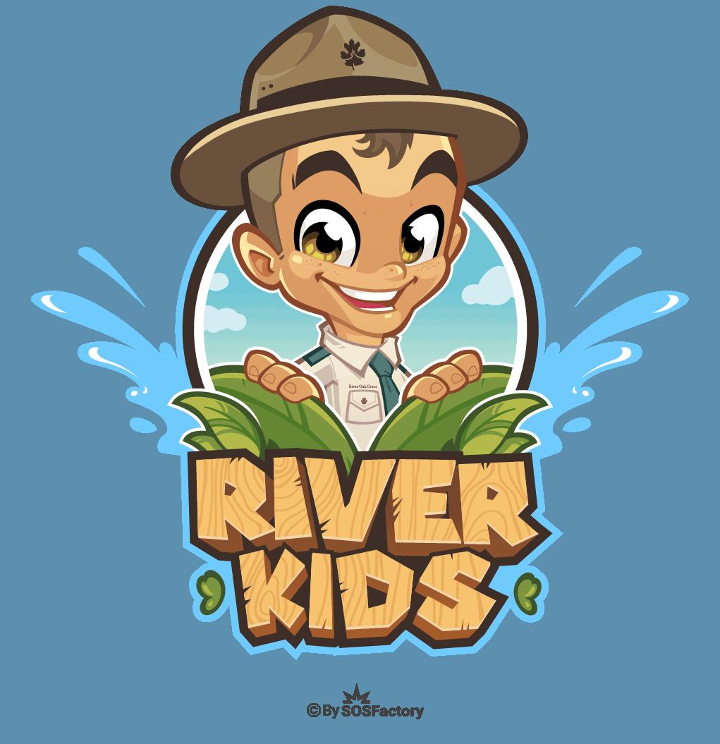 Mascot Logo with boy