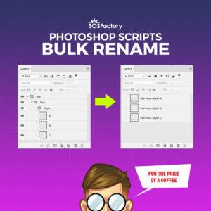 bulk rename photoshop layers
